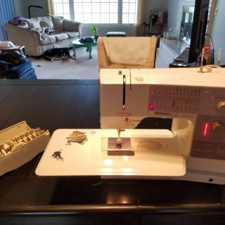 The Sewing Machine is Out