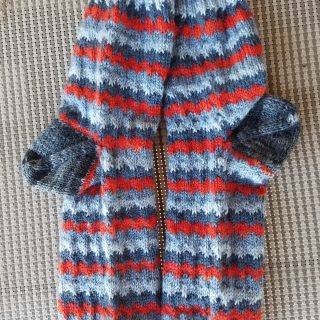 Second Pair of Socks Finished