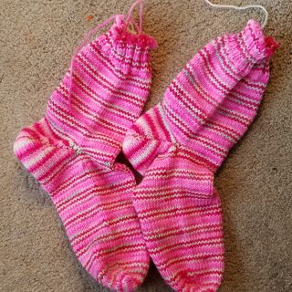 Pink Socks Are Finished