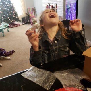 Addie's First Advent Surprise