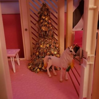Christmas at Barbie's House