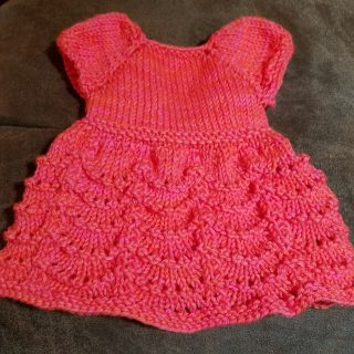 The First Doll Dress