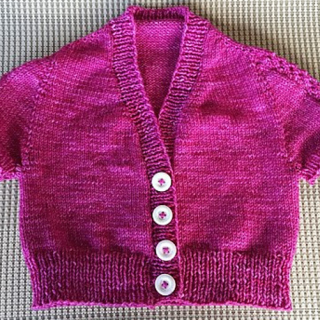 A Pink Doll Sweater